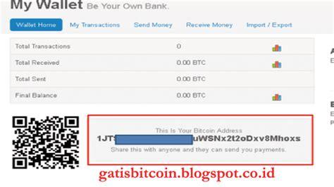 tutorial bitcoin co id tutorial membuat wallet bitcoin di blockchain bitcoin gratis