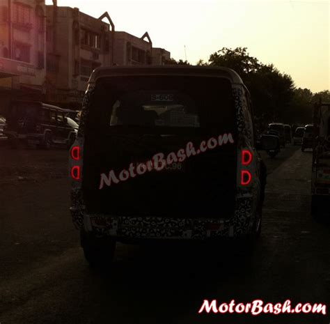 Lu Led Motor Scorpio Scorpio Facelift Spied Flaunting New Led Ls