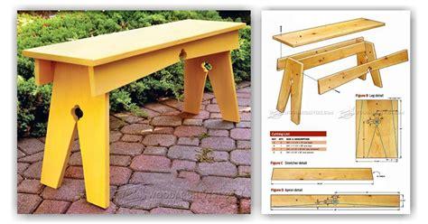 backyard bench plans backyard bench plans woodarchivist