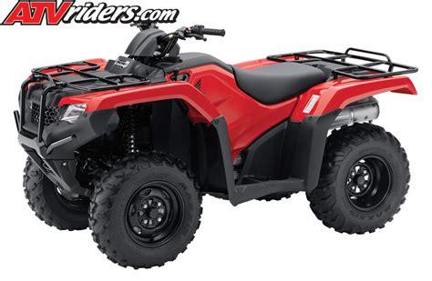 honda atv models 2014 honda rancher foreman utility atv models