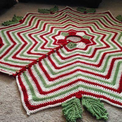 crochet pattern christmas tree skirt best 25 crochet tree skirt ideas on pinterest crochet