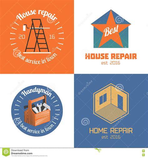 elements design renovations inc home repair vector logo cartoon vector cartoondealer com