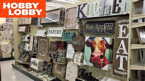 hobby lobby kitchen cooking wall decor home decor shop   shopping store walk