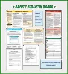 safety bulletin template workers compensation safety bulletin board