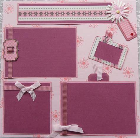 photo album layout sle esther s creative designs awesome girls scrapbook album