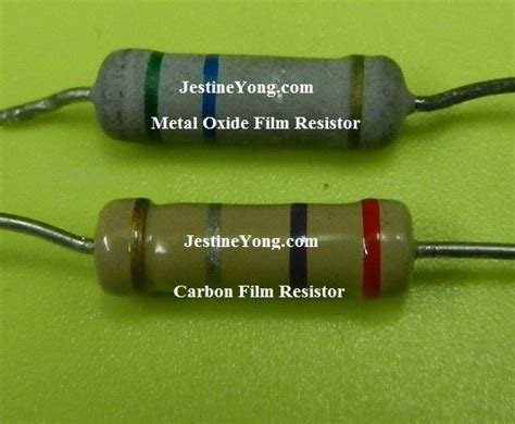 wirewound resistor vs metal oxide metal oxide resistor vs carbon 28 images qty 10 1 ohm 5w 5 flameproof metal oxide power