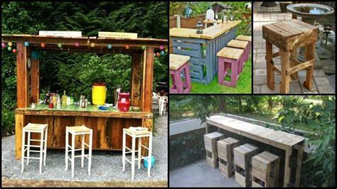 diy pallet outdoor bar  stools  owner builder network