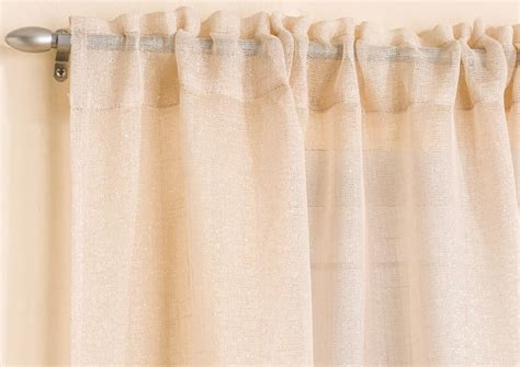 glitter curtain panel gorgeous pale gold sparkle glitter voile net curtain panel