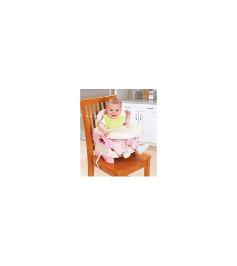 Summer Folding Booster by Summer Infant Deluxe Comfort Folding Booster Pink