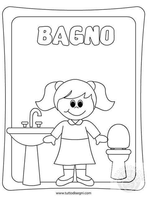 disegni bagno cartello porta bagno femmine tuttodisegni