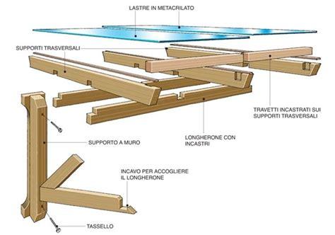 come realizzare una tettoia in legno tettoie fai da te pergole e tettoie da giardino