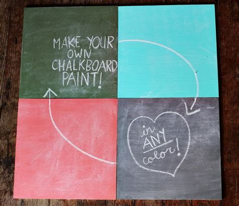 chalk paint using 2 colors how to mix chalkboard paint in any color a beautiful mess