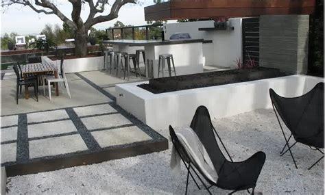 modern concrete patio designs mid century modern concrete patio landscaping