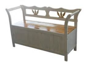 Bench Seat With Storage White Wooden Seat Bench Chair Cabinet Storage Home Garden Patio Furniture New Ebay