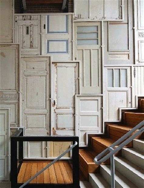 Doors In Walls by Door Diy Ideas Repurposed Doors 10 New Uses For