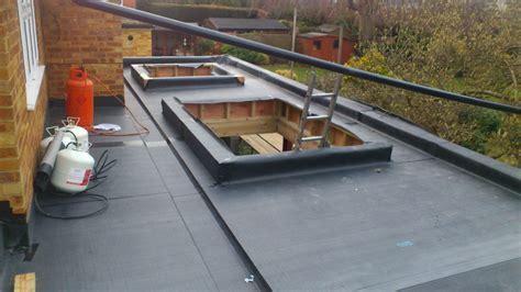 new epdm flat roof installed fleece reinforced epdm archives ar systems