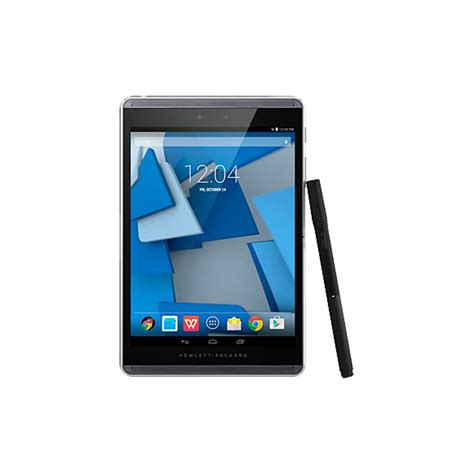 Hp Android Lollipop Ram 2gb hp pro slate 8 tablet k7x65aa 2gb ram 16gb wlan nfc bluetooth android 4 4 k7x65aa mwave au