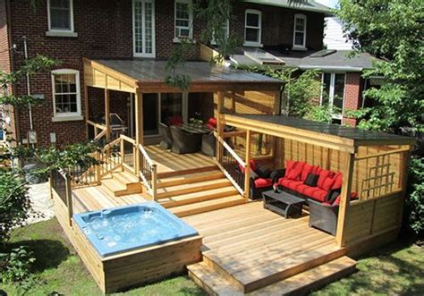 Pool Patio Ideas Extend Your Patio On To Your Garden Backyard Decks And Patios Ideas
