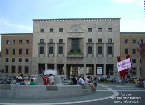 di commercio varese fascismo architettura arte