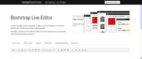 bootstrap visual layout editor top 15 bootstrap visual editors for web designers