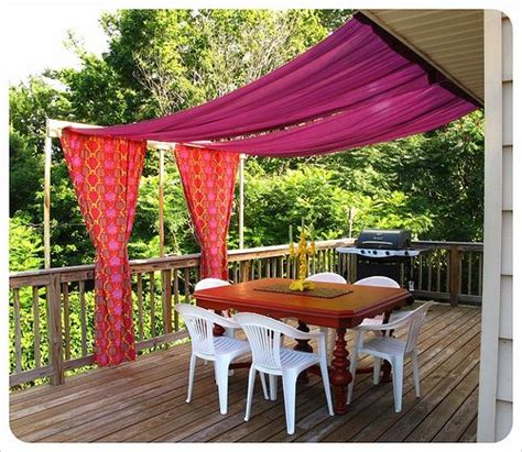 outdoor fabric canopy outdoor canopy diy why not dye canvas drop cloths for
