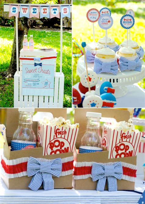 4th of july backyard party ideas kara s party ideas july 4th patriotic seersucker old fashioned party planning ideas decor