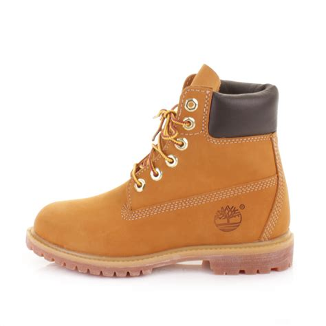 wheat timberland boots womens timberland 6 inch premium wheat nubuck leather