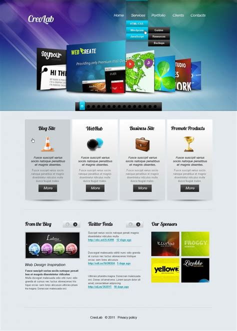 Html Design Templates by 14 Best Web Developer Website Templates Free Premium