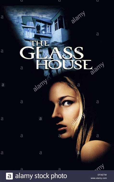 the glass house 2001 leelee sobieski the glass house 2001 stock photo royalty