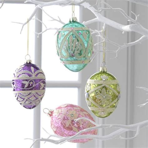 cute decorative easter trees and easter tree ornaments