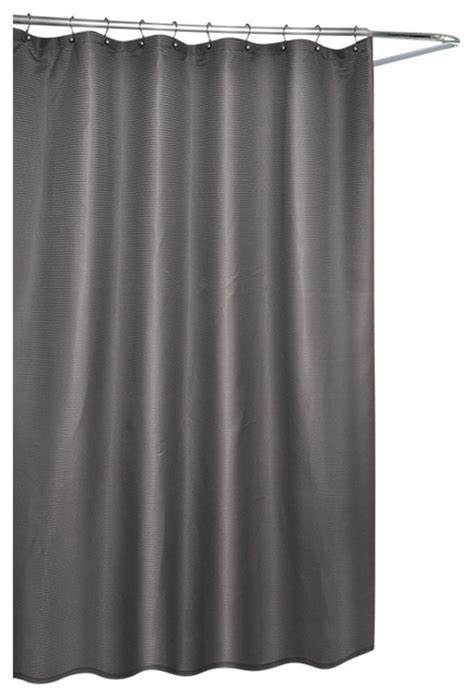 gray waffle shower curtain waffle fabric shower curtain gray contemporary shower