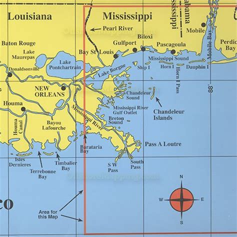 hook n line fishing map f129 gulf of mexico offshore