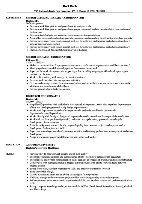 sle resume for csr with no experience complex clinical program manager resume research