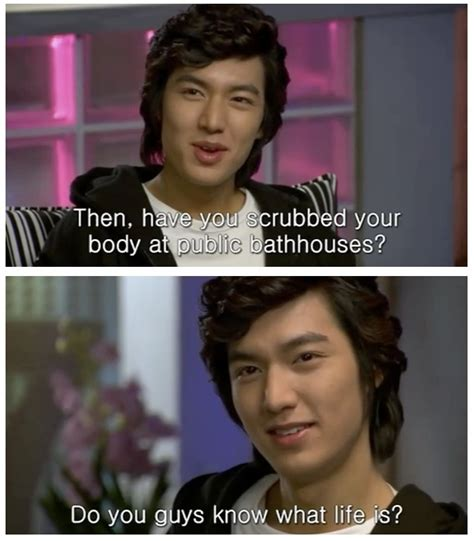 Lee Min Ho Memes - 408 best images about boys over flowers on pinterest