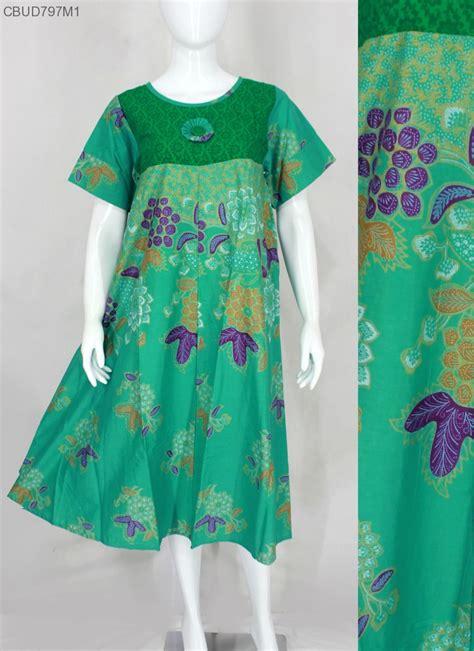 Daster Muslim Batik Longdress daster batik motif bunga daster longdress babydoll