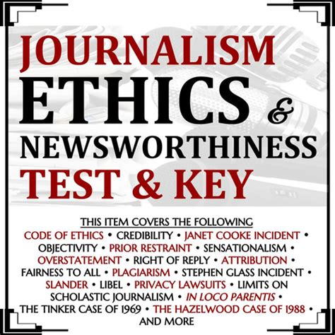 Journalism Ethics by Newsworthiness In Media Powerpoint Introduction To