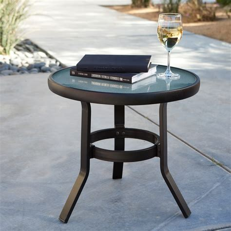 Patio Table Black Small Black Outdoor Side Table Outdoor Patio Tables Ideas