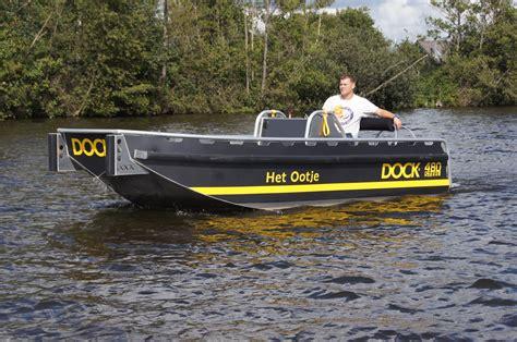 aluminium boot te 4 80 meter aluminium boot dock 480 steel wiegmans ook