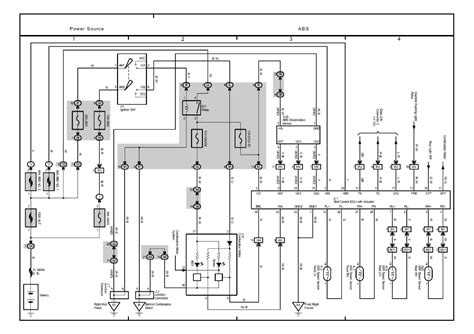 toyota matrix 2003 wiring diagram electric gear motor