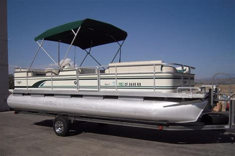 used pontoon boats for sale perris ca 1998 used kayot skipper xlskipper xl pontoon boat for sale