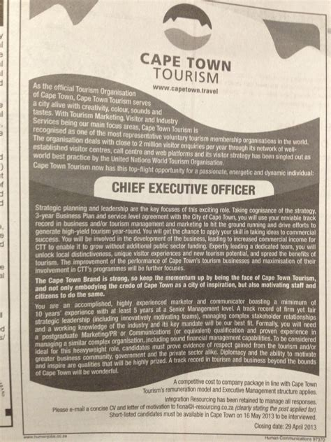 sunday times careers section human resources
