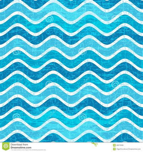 pattern vector waves seamless blue wave striped pattern royalty free stock