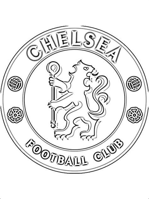 chelesafootballclub free colouring pages