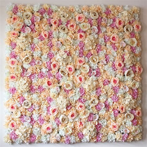 Wedding Backdrop With Flowers by 40cm 60cm Artificial Flower Wall Wedding Decoration Flower