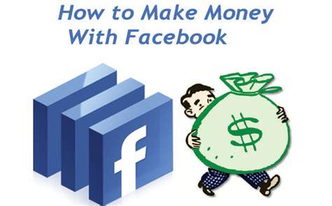 Make Money Online Facebook - top 5 ways of earning money on facebook earning online