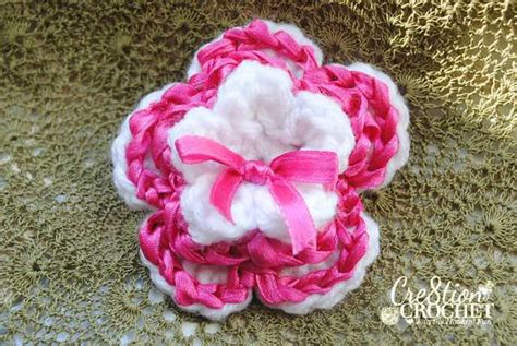 flower pattern ribbon free valentine s day crochet patterns