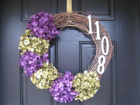 teach craft love front door wreaths  color