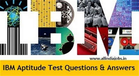 Aptitude Test For Mba Freshers by Ibm Aptitude Test Questions And Answers Freshers
