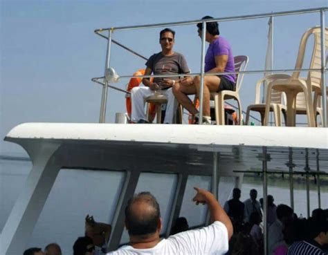 party boat trip party adventure cruise goa snorkeling fishing