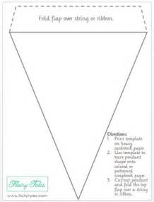 Printable Banner Template Pennant Banner Template On Pinterest Pennant Template